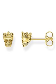 Thomas Sabo Ear Studs Skull Gold TH2163Y