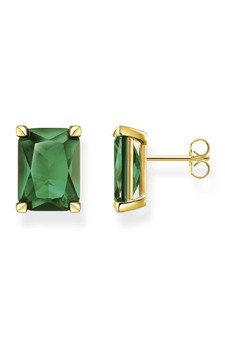 Thomas Sabo Ear Studs Green Stone TH2167GY