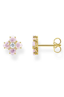 Thomas Sabo Ear Studs Flowers Gold TH2171Y
