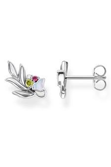 Thomas Sabo Ear Studs Flower Silver TH2172