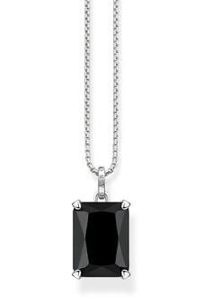 Thomas Sabo Necklace Black Stone Silver TKE1957BL
