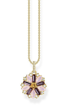 Thomas Sabo Necklace Flower Gold TKE2086Y
