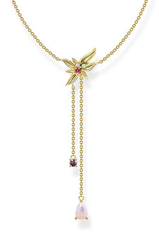 Thomas Sabo Necklace Flower Gold TKE2087Y