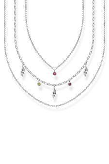 Thomas Sabo Necklace Leaves Silver TKE2088