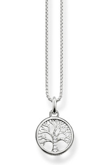 Thomas Sabo Necklace Tree Of Love Silver TKE2092