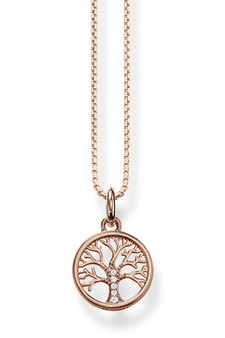 Thomas Sabo Necklace Tree Of Love Rose Gold TKE2092R