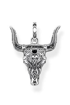 Thomas Sabo Pendant Bull's Head Silver TPE913