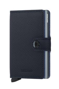 Secrid Miniwallet Saffiano Leather Navy Wallet SC8442