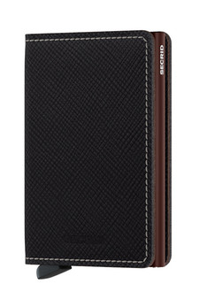 Secrid Slimwallet Saffiano Leather Brown Wallet SC8527