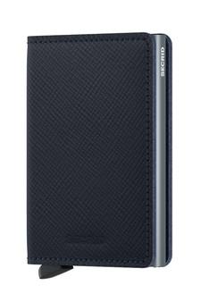 Secrid Slimwallet Saffiano Leather Navy Wallet SC8459