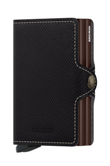 Secrid Twinwallet Saffiano Leather Brown Wallet SC8534
