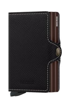 Secrid Twinwallet Saffiano Leather Brown Wallet SC8534