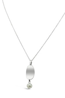 Ichu Curved Pearl Necklace RP1504