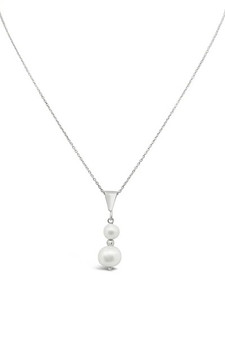 Ichu Duo Pearl Necklace RP1304
