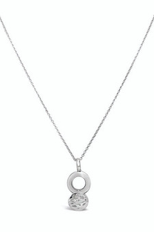 Ichu Layer Me Circles Necklace EY1104