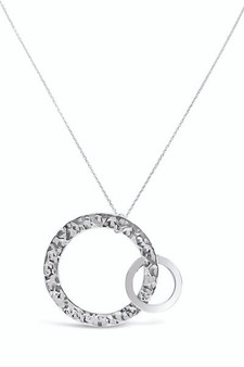 Ichu Combination Duo Pendant Necklace EY0604