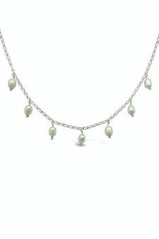 Ichu Scattered Pearl Necklace RP0604