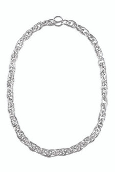 Ichu Double Loop Chain Necklace ME5204