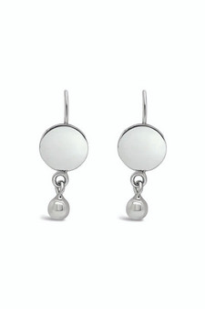 Ichu Ball'd Circle Drop Earrings ME14307