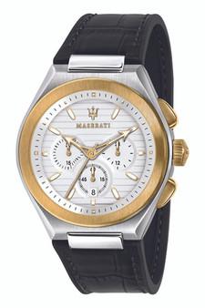 Maserati Triconic 43mm Black Watch R8871639004
