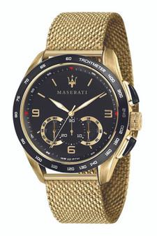 Maserati Traguardo 45mm Black Watch R8873612010