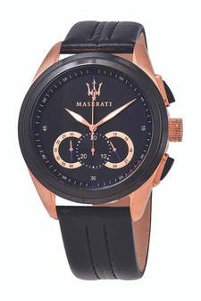 Maserati Traguardo 45mm Black Watch R8871612025