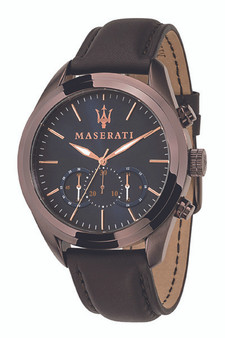 Maserati Traguardo 45mm Blue Watch R8871612008