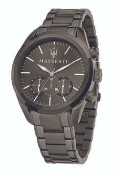 Maserati Traguardo 45mm Gun Metal Watch R8873612002