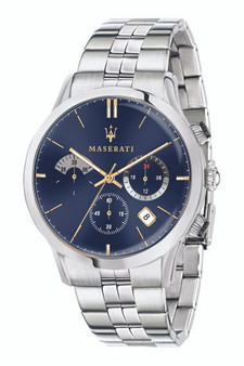 Maserati Ricordo 42mm Silver Watch R8873633001