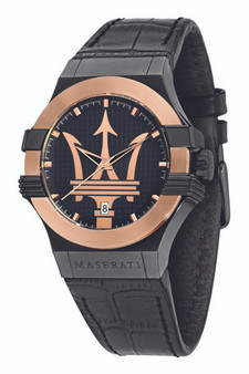 Maserati Potenza 42mm Gold Watch R8851108032