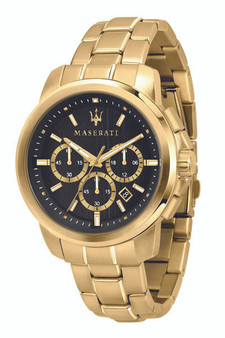 Maserati Successo 44mm Black Watch R8873621013