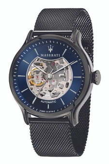 Maserati Epoca 42mm Blue Watch R8823118003