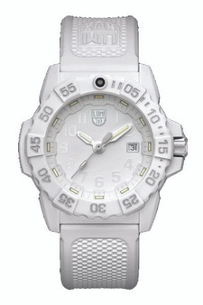 Luminox Wht Silver Dial White 45mm XS.3507.WO