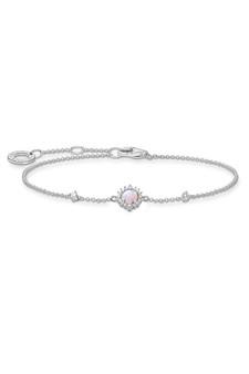 Thomas Sabo Bracelet Pink Stone Silver TA2023OP