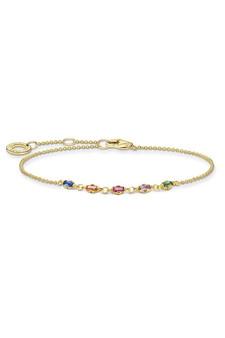 Thomas Sabo Bracelet Colourful Stones Gold TA2024MCY