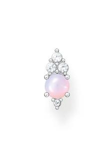 Thomas Sabo Single Ear Stud Pink Stone Silver TH2181OP