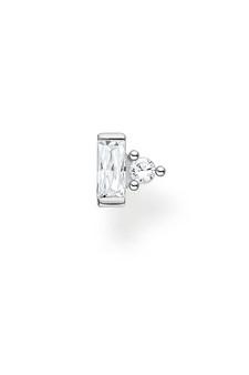 Thomas Sabo Single Ear Stud Stones Silver TH2186