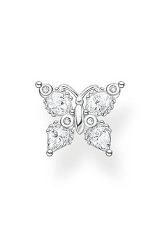 Thomas Sabo Single Ear Stud Butterfly Silver TH2195