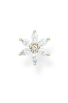Thomas Sabo Single Ear Stud Flower Gold TH2196Y