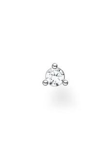 Thomas Sabo Single Ear Stud Stone Silver TH2197