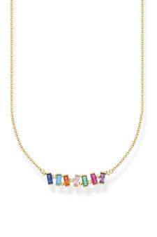 Thomas Sabo Necklace Colourful Stones Gold TKE2095MCY
