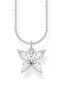 Thomas Sabo Necklace Butterfly Silver TKE210