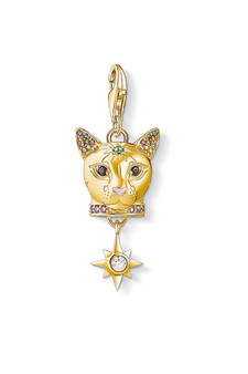 Thomas Sabo Charm Pendant Cat Gold CC1819