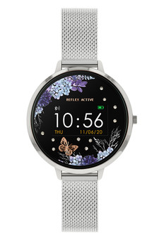 Reflex Active Series 3 Silver Silver Mesh Smart Watch RA03-4031