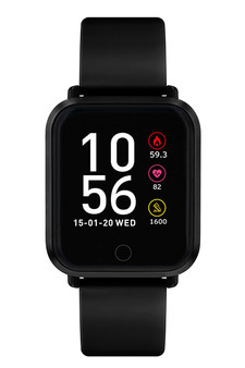Reflex Active Series 6 Black Silicone Smart Watch RA06-2084