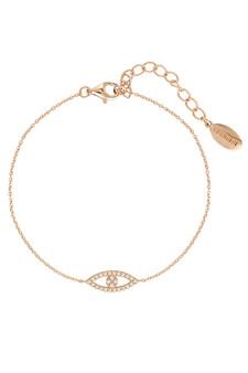 Georgini Rock Star Evil Eye Bracelet Rose Gold IB185RG