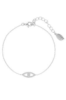 Georgini Rock Star Evil Eye Bracelet Silver IB185W