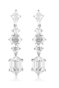 Georgini Rock Star Sword Earrings Silver IE992W