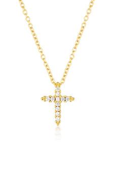 Georgini Rock Star Cross Pendant Gold IP855G