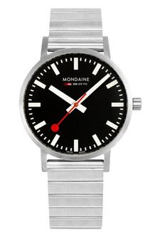 Mondaine Official Swiss Classic 40mm Steel Watch A660.30360.16SBW